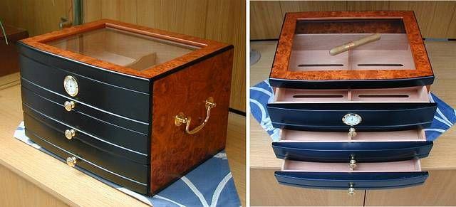 humidor gr te auswahl deutschlands zigarren humidore feuerzeuge dupont wein humidor. Black Bedroom Furniture Sets. Home Design Ideas